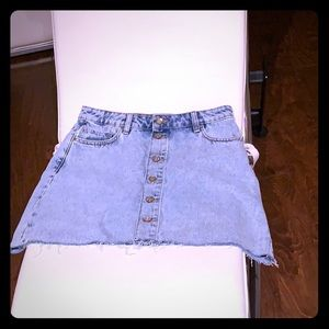 Like new Zara denim mini skirt size small